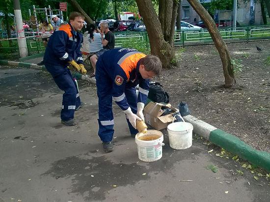 Разлив ртути в Москве: опасное вещество хранилось в квартире покойника