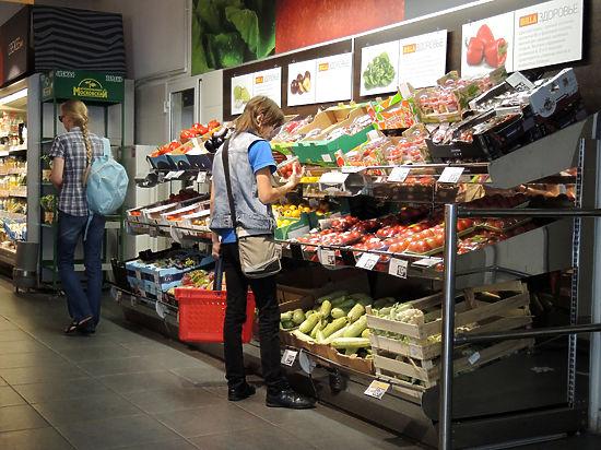 Цены на продукты падают с уровнем жизни