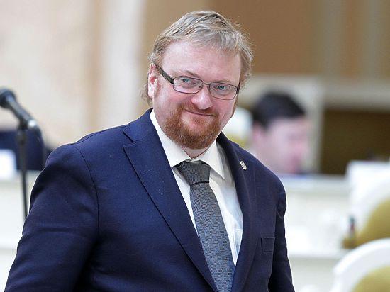 Депутат Милонов предложил запретить ходить с голым торсом