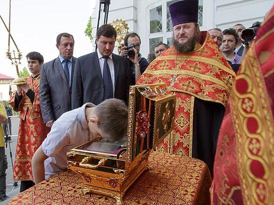 Мощи святого князя Владимира побывали на тульской земле