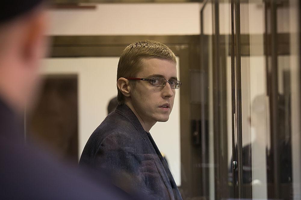 Дело националиста Ильи Горячева: фото из зала суда