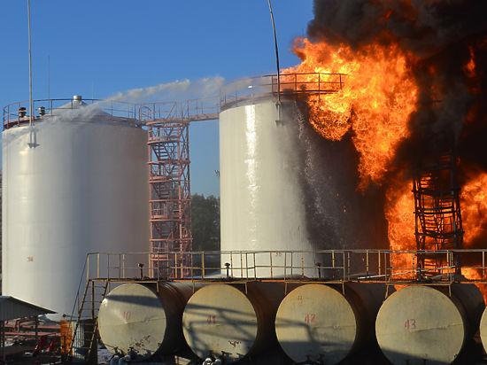 Компания-владелец считает поджог основной версией пожара
