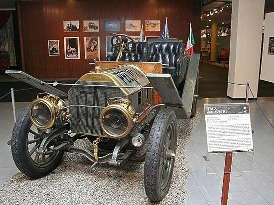 Знаменитая машина «Итала», хранящаяся в музее Италии, более века назад колесила по дорогам Верхнеудинска