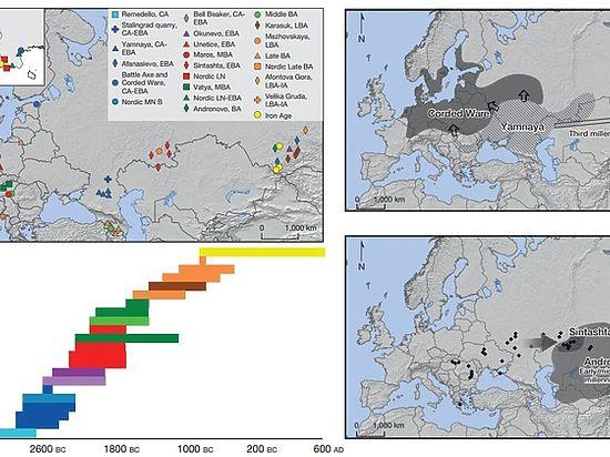 Российские ученые выяснили, «откуда есть пошли» предки европейцев