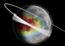 Вокруг Луны обнаружено пылевое кольцо