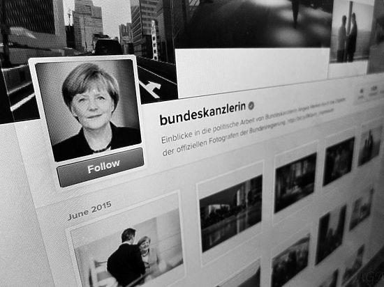 Меркель освоила Instagram