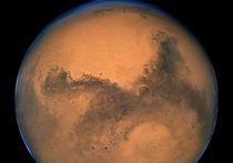 Марс весь истекал водой еще миллион лет назад, доказали ученые