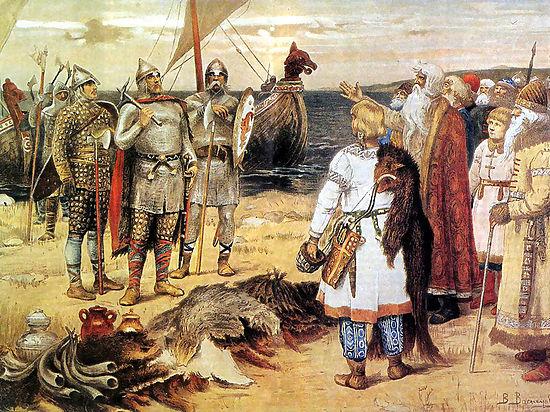 Сообщение летописи о Рюрике нельзя считать достоверным, а Великий Новгород в 862 году еще не существовал