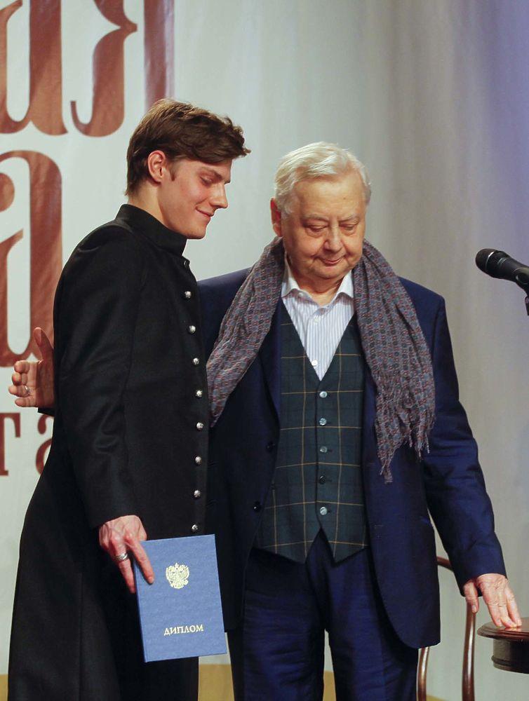 Выпускной театральной школы имени Олега Табакова: в числе выпускников был Табаков-младший