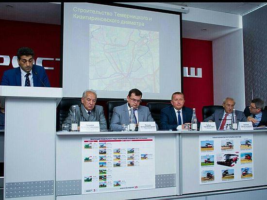 В Ростове появится Комплексная транспортная схема развития