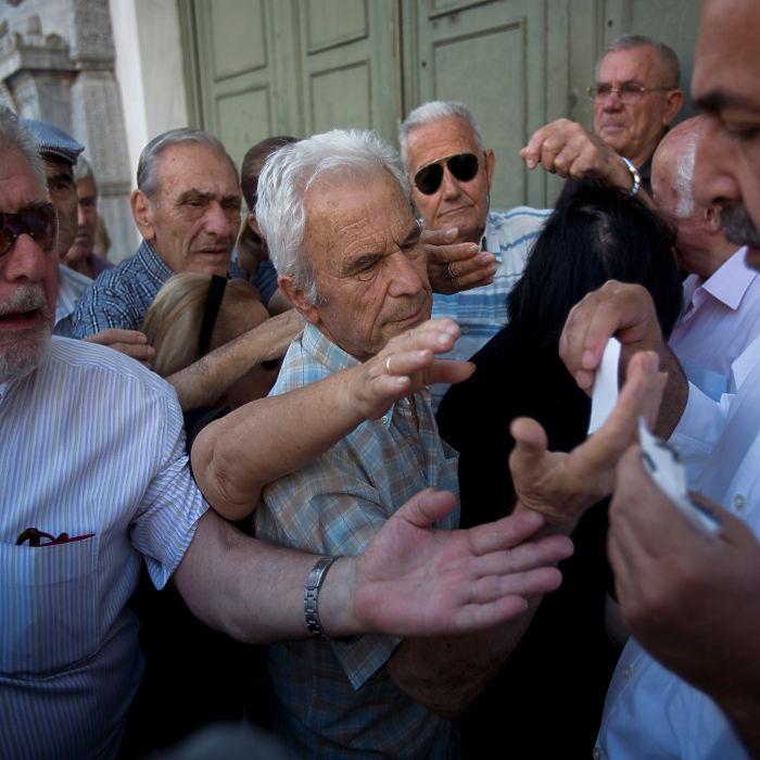 Греческий референдум: люди в ожидании перемен