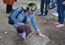 В «купальскую» ночь Светлояр стал местом многочисленных ритуальных действий