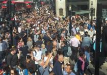 Забастовка в метро Лондона привела к транспортному коллапсу в городе