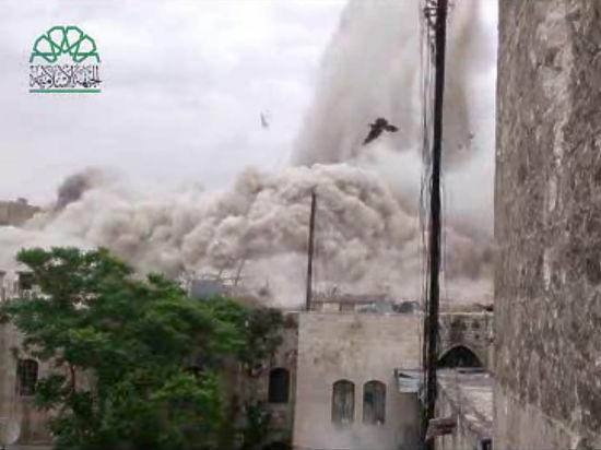 Сирийские боевики разрушили цитадель, находящуюся в списке ЮНЕСКО