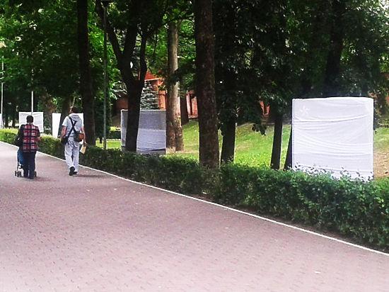 В центре Смоленска откроют Аллею Героев