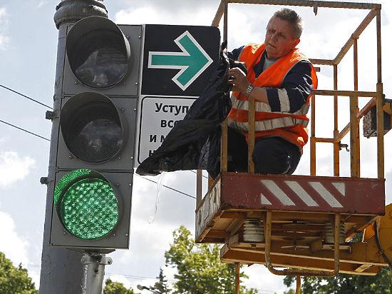 В Москве установят светофоры за 5 млн рублей