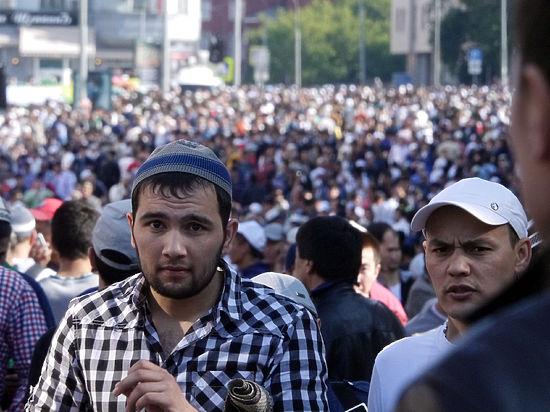 Участие в религиозном празднике приняли 160тысяч столичных мусульман