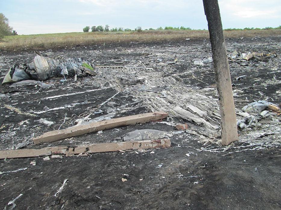 Прокуратура ДНР опубликовала новые фотографии с места крушения Boeing MH17