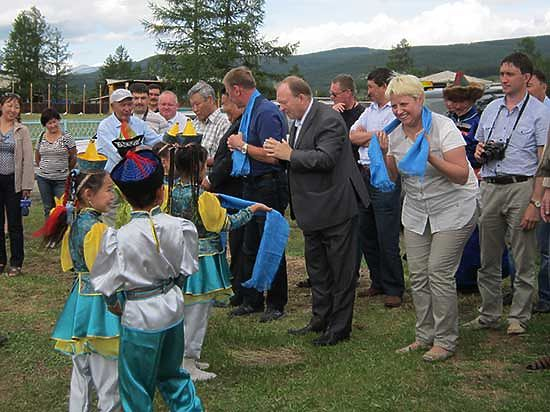 В Бурятии Окинский район отметил свое 75-летие