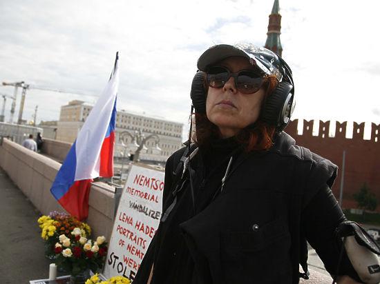 «Народный мемориал» на месте гибели Немцова снова разрушен