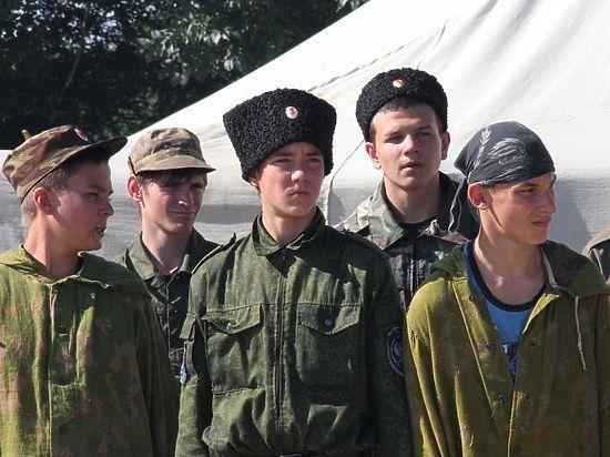 Для казачат Ставрополья организовали военно-полевые сборы