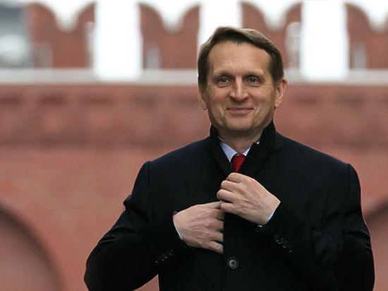 Нарышкин: Отказ России от Крыма? Никогда!