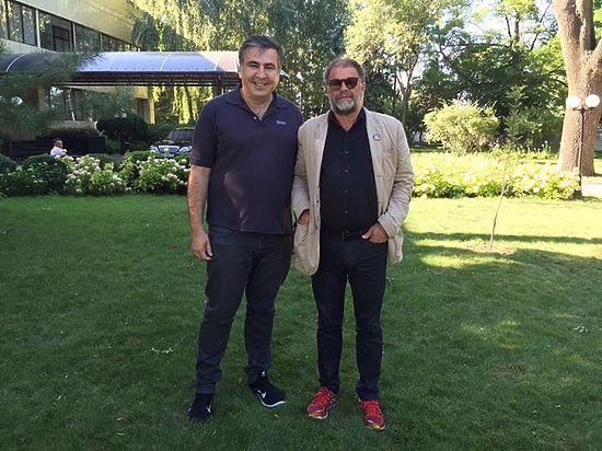 Борис Гребенщиков съездил в гости к Михаилу Саакашвили