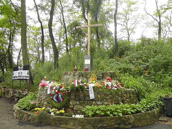 Кладбище с могилами русских военнопленных открылось во Франкфурте-на-Одере