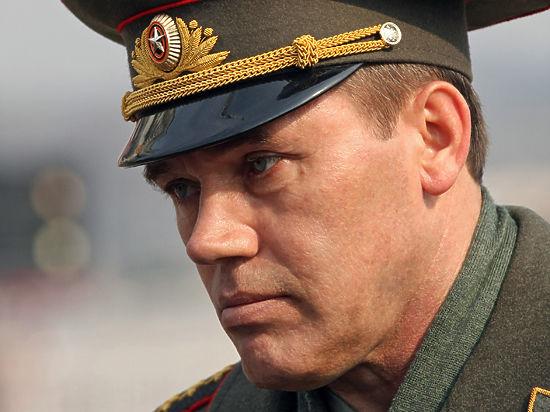 СБУ объявила в розыск главу российского Генштаба