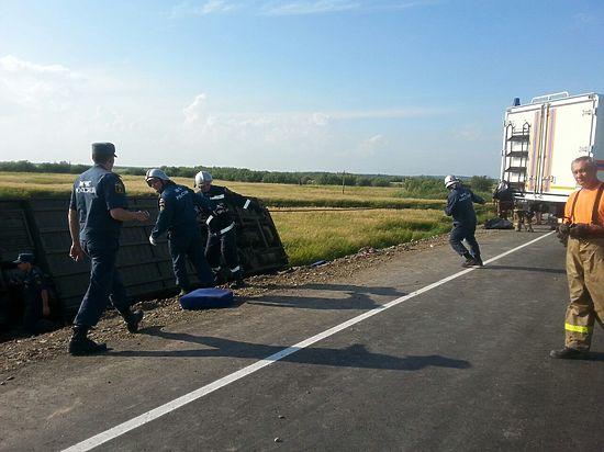 ДТП в Хабаровском крае: жертвами столкновения автобусов стали 16 человек