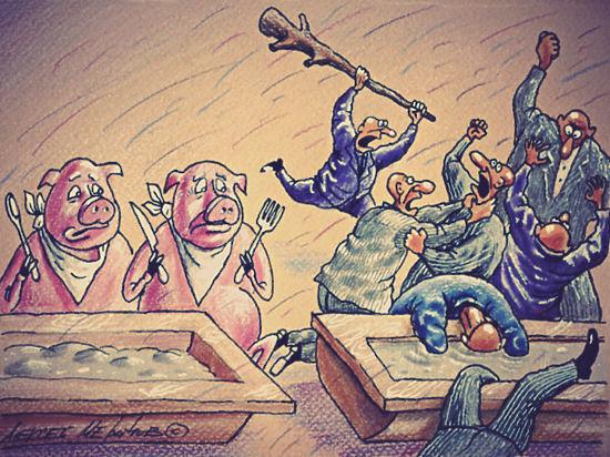 Уничтожение санкционных продуктов обломало упрямство фермера
