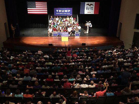 Дебаты в Кливленде: Дональд Трамп шантажирует республиканский истеблишмент