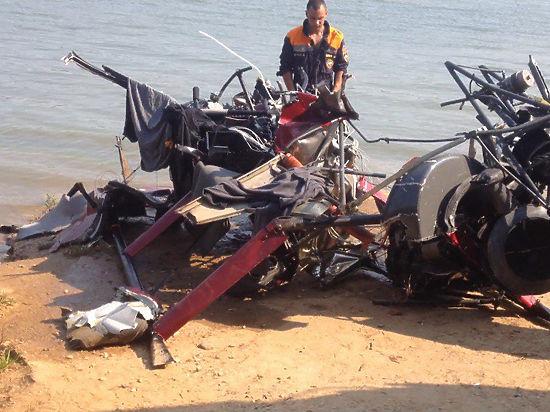 В результате авиакатастрофы на Истринском водохранилище погибли девять человек