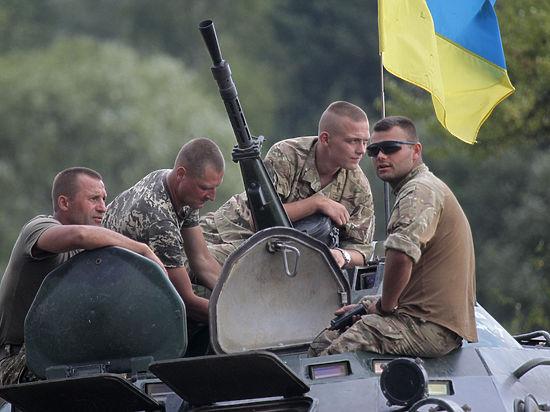 ВСУ стягивает к линии разграничения бойцов и тяжелую военную технику