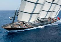 Шесть чудес яхты Maltese Falcon: от мини-подлодки до украинки Олены Брихадир