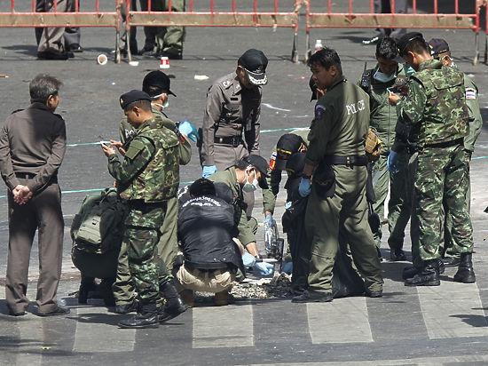 Власти Таиланда: теракт в Бангкоке устроили «несколько команд»