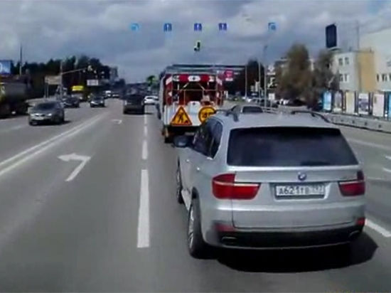 Владелец внедорожника BMW опровергает свое участие в инциденте со