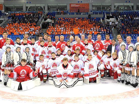 Вратарь детской хоккейной команды «Сириус» оказал сопротивление Путину