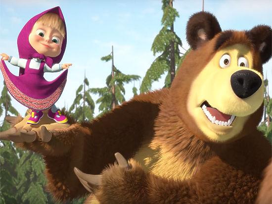 Мультфильмы маша и медвед секси