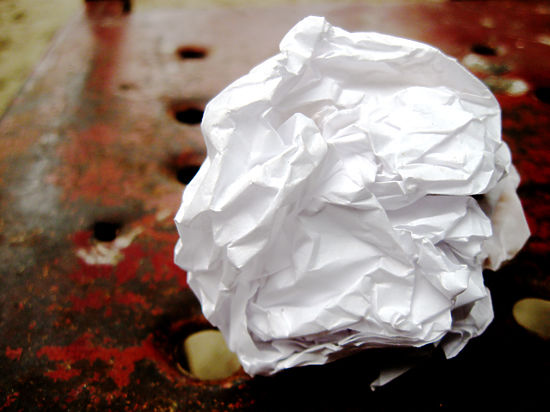 Дефицит бумажного мусора