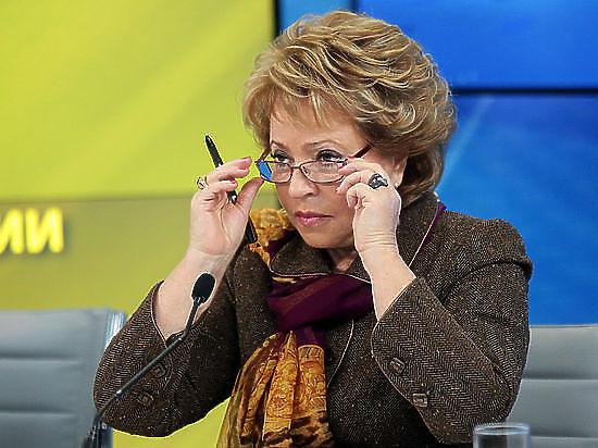 Матвиенко: Украина уже осознала, что Крым вернуть не получится