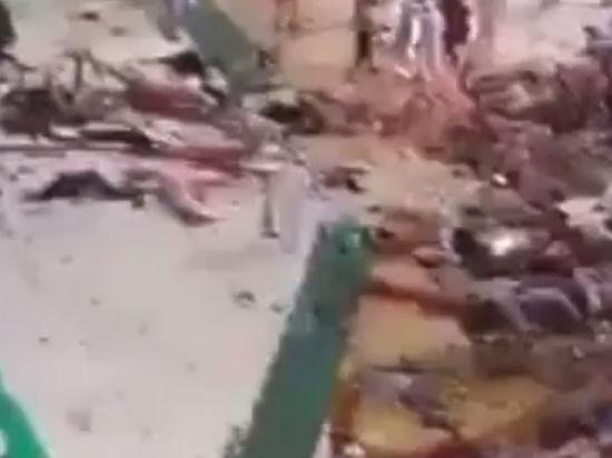 На главную мечеть Мекки рухнул кран, убив десятки паломников. Live