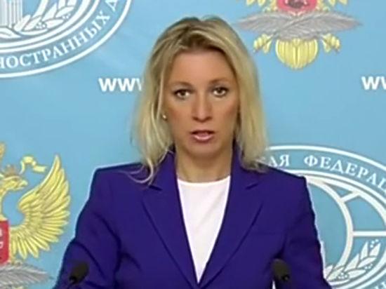 """Захарова из МИД РФ: Порошенко не заметил """"зелёных самолётиков"""""""