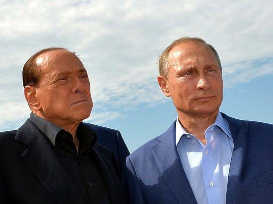 Берлускони отказался признавать перед Путиным вину итальянцев в Крымской войне