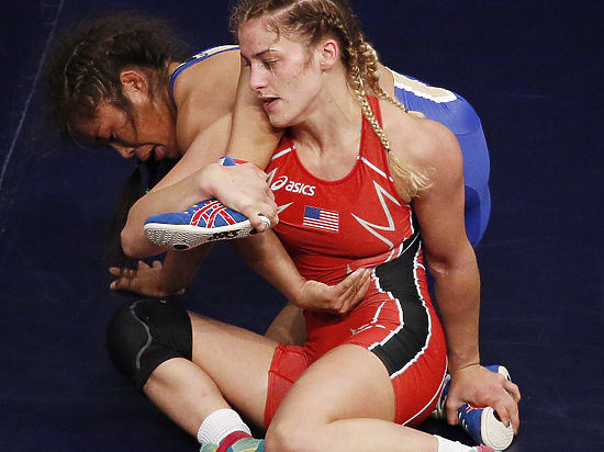 Борьба, чемпионат мира: Ологонова разрыдалась, завоевав серебро