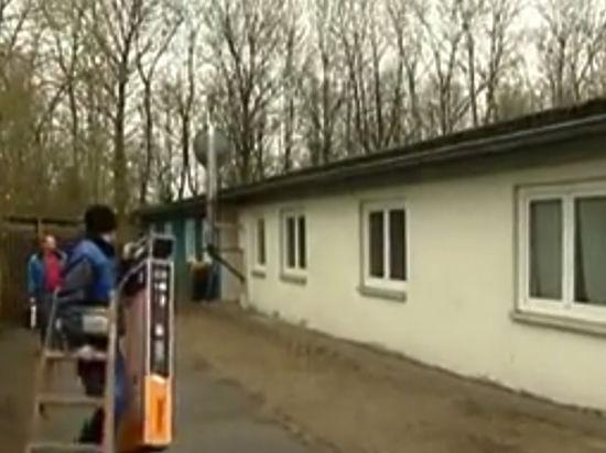 Германия разместила беженцев в Бухенвальде