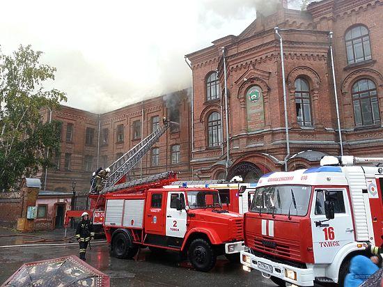 Есть основания полагать, что в Томске умышленно уничтожаются памятники культурного и исторического наследия