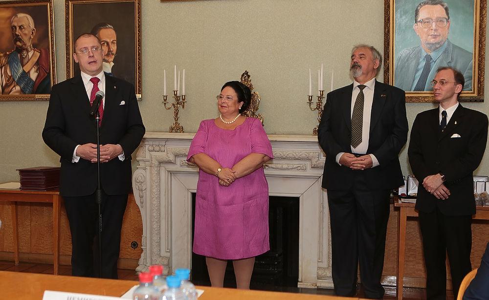 Княгиня Мария присвоила Гавриилу Попову звание дворянина
