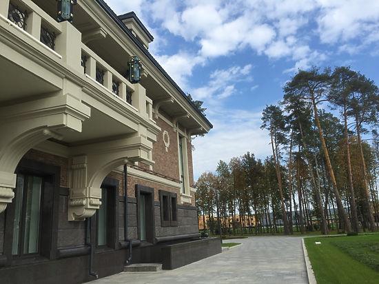 В резиденции Путина построили новый особняк
