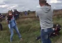 """Неожиданная развязка: венгерская журналистка поставила подножку боевику """"Аль-Каиды"""""""